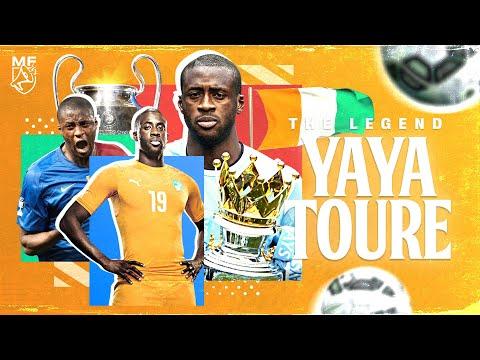 La Vie de Yaya Touré 🐘 LE Roi du milieu de terrain