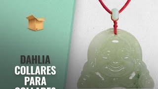 Dahlia 2018 Mejores Ventas: Dahlia Laughing Buddha Jadeite Certified Grade A Jade Pendant Necklace,