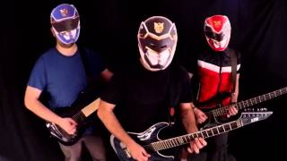 Defaced - Power Rangers Metal Cover