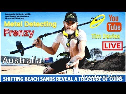 Metal Detecting Frenzy On The Central Coast NSW Australia 🇦🇺 With Tim Davies