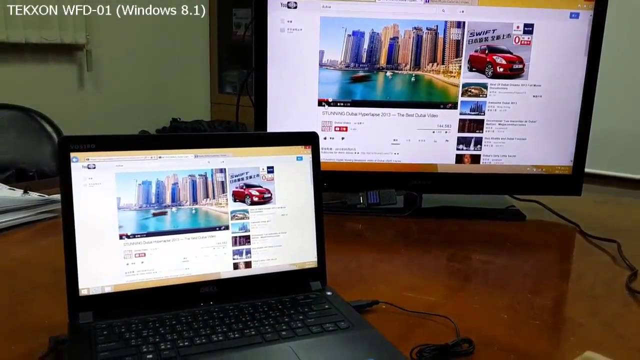 TEKXON WFD 01 Windows 81 Miracast Dell Vostro 5460