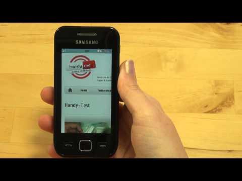 Samsung Wave 525 Test Internet