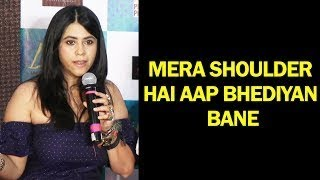 Ekta Kapoor Angry Reaction On Sex | Lipstick Under My Burkha Trailer Launch | SpotboyE