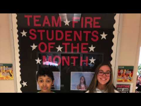 North Hills Middle School - March 2018 Students of the Month