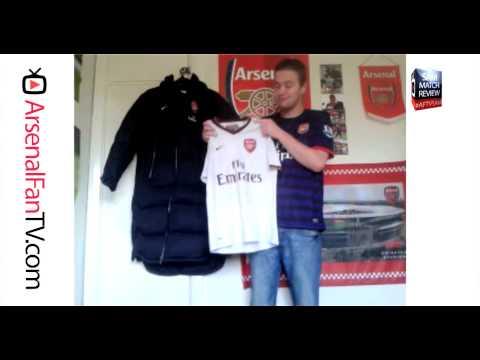 Sam Shows His Collection of Arsenal Shirts - ArsenalFanTV.com