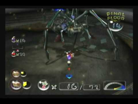 Pikmin 2 Final Boss Spoilers Youtube