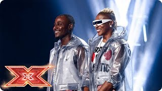 Can Afro-Swagg Azonto their way to a chair? | Six Chair Challenge | The X Factor 2017