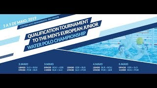 QUALIFICATION TOURNAMENT TO MEN´S EUROPEAN JUNIOR WATER POLO CHAMPIONSHIP (PORTUGAL)