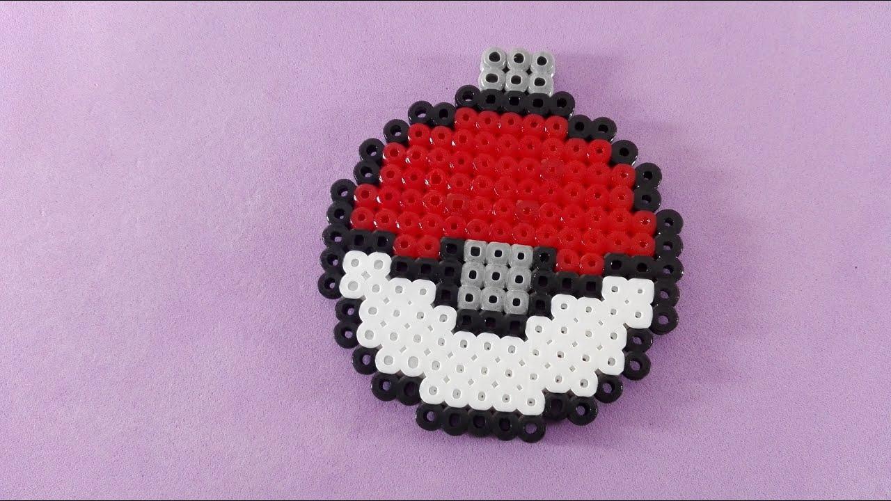 Pokemon bola de navidad hama perler youtube - Bolas gigantes de navidad ...