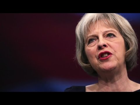Theresa May: The UK is leaving the EU