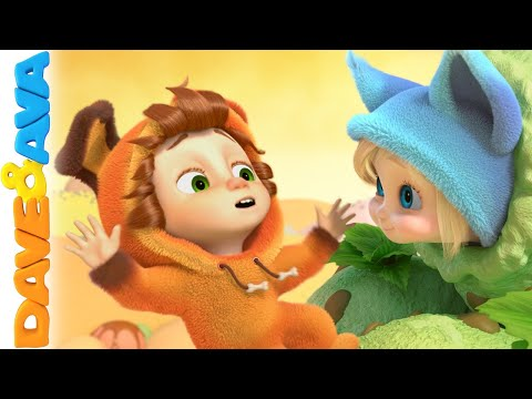 🍊nursery Rhymes And Kids Songs  Dave And Ava 🍊