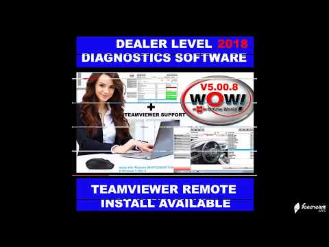 WOW WURTH V5 00 8 2018 DEALER LEVEL DIAGNOSTICS whats app me for further details and prices