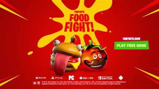 NEW FORTNITE FOOD FIGHT OFFICIAL TRAILER