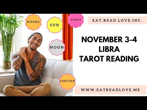 "LIBRA SOULMATE ""MR. CLEAN"" NOVEMBER 3-4 DAILY TAROT READING"