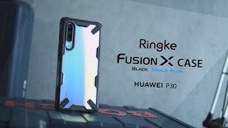 Innovative Case for Huawei P30: Ringke Fusion-X