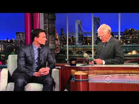 Ryan Lochte on the Late Show with David Letterman 22 04 2013 ...