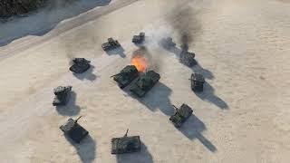 World of Tanks - 10 KV-2 vs 2 TYPE 5 [ Versus Seri ]