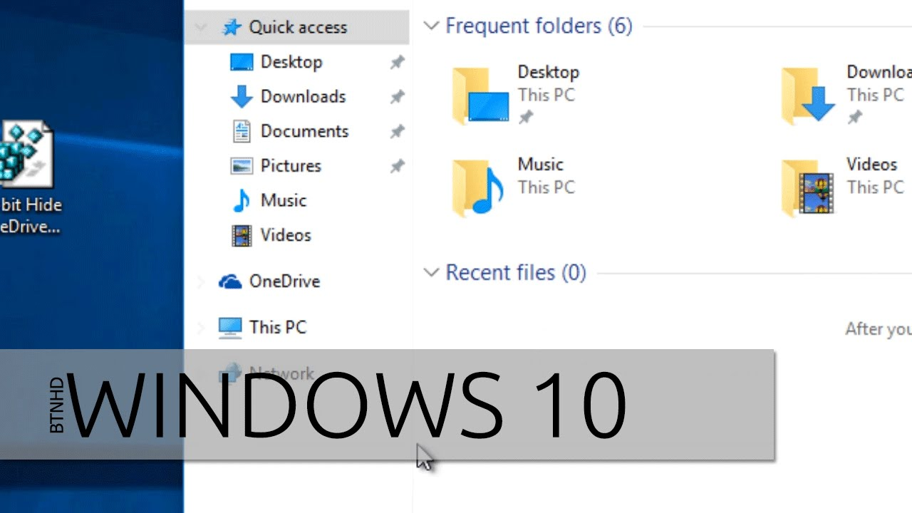 How To Disable OneDrive and Remove it from File Explorer in Windows 10