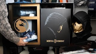 The Most INSANE Limited Edition Sneaker Package For Mortal Kombat 11 Unboxing