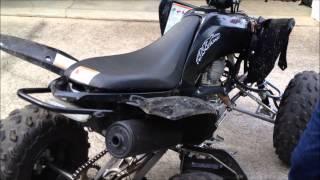 stock raptor 250 exhaust vs fmf