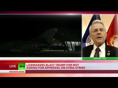 Why didn't Trump go to Congress before striking Syria? – RT asks State Senator Richard Black