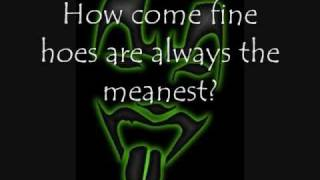 Half full - Shaggy 2 Dope w/ Lyrics