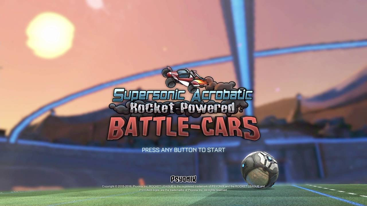 Rocket League Konami Code easter egg