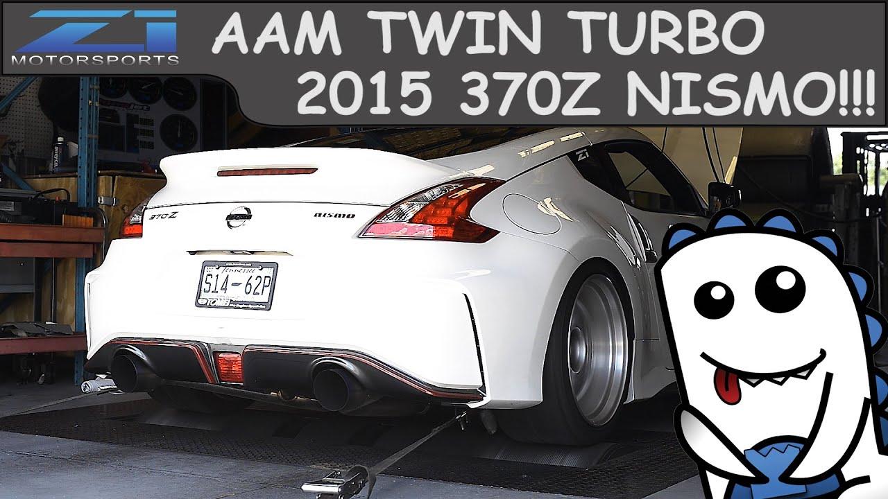 2015 Nissan 370z Nismo AAM Twin Turbo Dyno