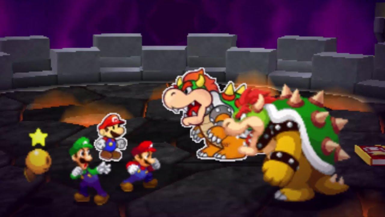 Mario And Luigi Paper Jam Final Boss Ending Youtube