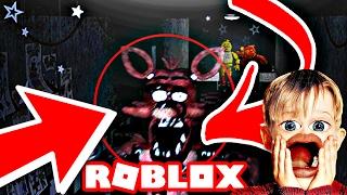 FOXY SPRINTS DOWN THE HALLWAY! Animatronics Réveillé (fr) Cinq nuits à Freddys ROBLOX!