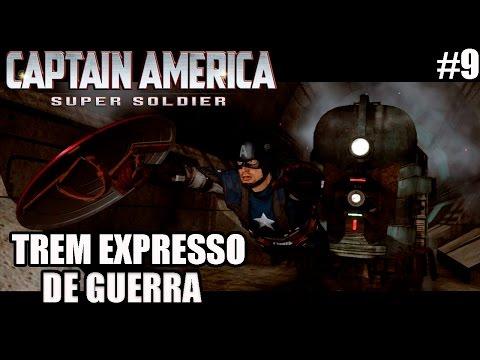 Captain America Super Soldier - Xbox 360 e PS3 - TREM EXPRESSO DE GUERRA - parte 09
