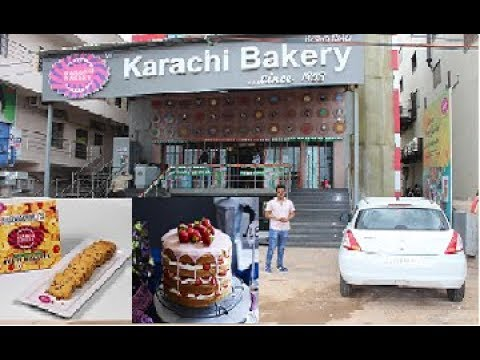Hyderabad Best Karachi Bakery ..world Fav Bakery