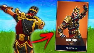 I BUY THE NEW BOUTIQUE on Fortnite: Battle Royale! (Wukong Skin)