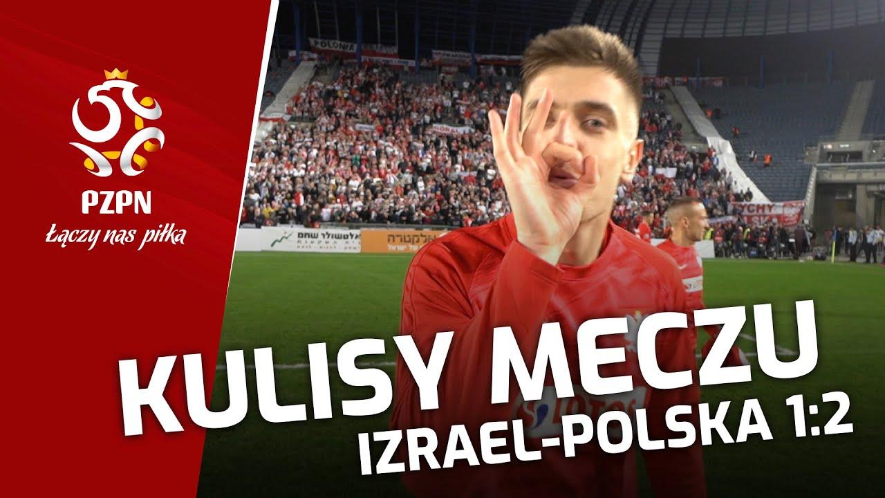 PIŁKARZ PRZEJĄŁ KAMERĘ. Kulisy meczu Izrael – Polska