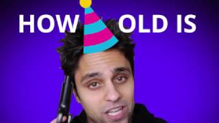 How old is Ray William Johnson? 🍰🎈