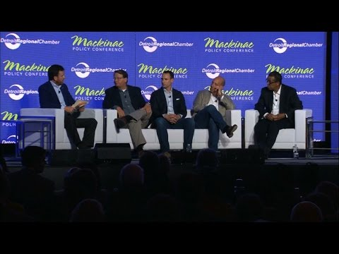 The Convergence of Auto and Tech: Adapting Michigan's Economy... | 2016 Mackinac Policy Conference