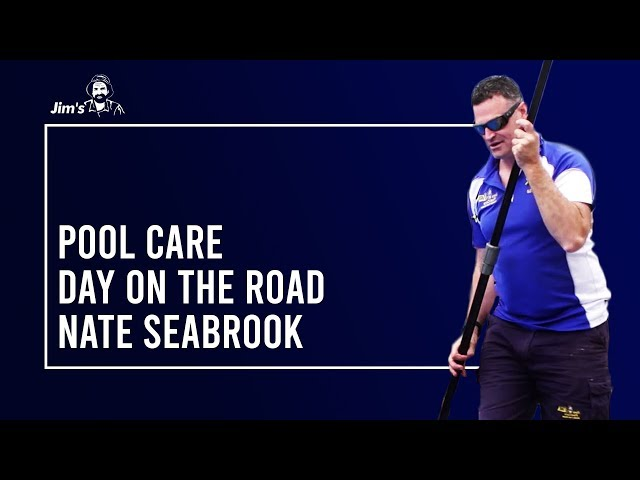#JIMSGROUP Day on the road with Jim's Pool Care Franchise Owner, Nate Seabrook | www.jims.net |