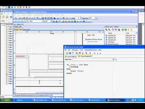 Creating Scripts With FabSoft's Reform Script Editor- Reform 101