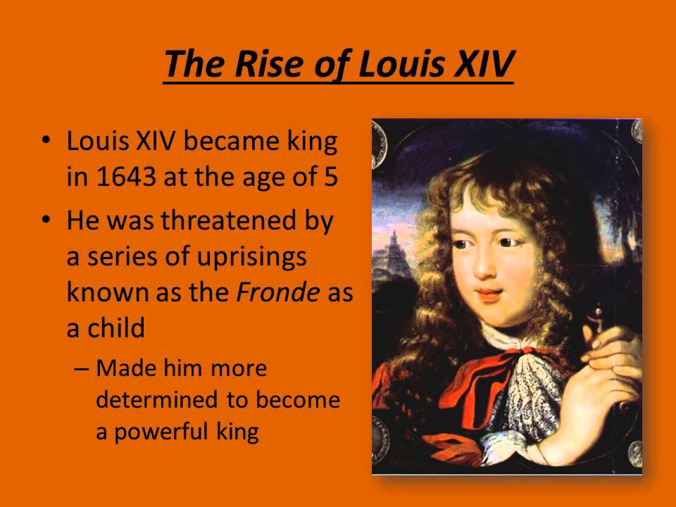louis xiv absolutism essay Check out our top free essays on king louis xiv and absolutism to help you write your own essay.