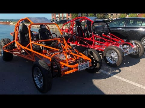 Beeline Chassis Dune Buggy 360 Degrees Walk Around the Car