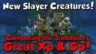 New Slayer Creatures! Lost Grove [Runescape 3] Good XP & GP!