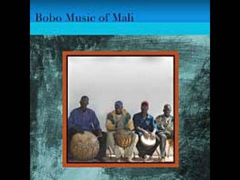 Amazing  Mali Bobo Drummers  Having Fun Trade Drum Solois
