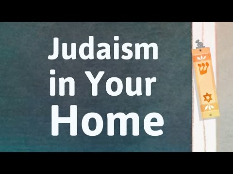 Making a Jewish Home (in a multifaith world)