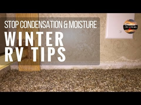 Stop Condensation & Moisture - Canadian Winter RV Life