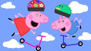 Peppa Pig Official Channel | Peppa Pig Loves Scooters!