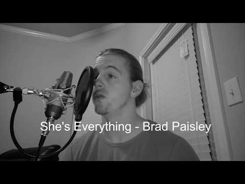 SHE'S EVERYTHING - BRAD PAISLEY (Shade Moran Cover)