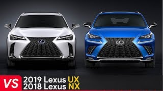 2019 Lexus UX Vs Lexus NX ► Cheaper But Still Better-Looking?