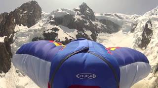 Mont Blanc Maudit. BASE. Valery Rozov.