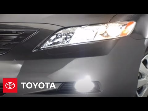 2007 - 2009 Camry How-To: High-Low Beams   Toyota