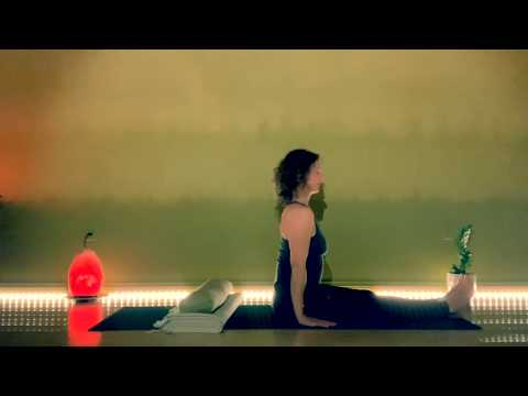 5-min YOGA FOR STRONG LUNGS: Supported Fish Pose